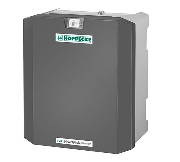 Hoppecke sun powerpack premium 7.5/48 7,5 kWh Solarbatterie Set