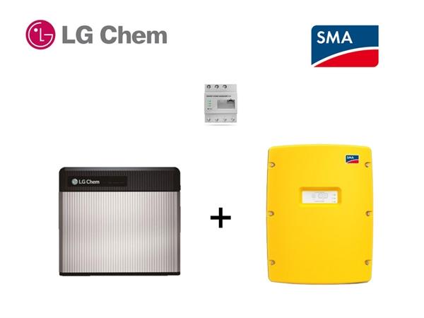SMA SI 4.4 LG RESU 3.3 Batteriespeicherset 3,3 kWh