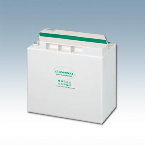 Solarbatterie HOPPECKE 6V 5 OPzV bloc solar.power 300