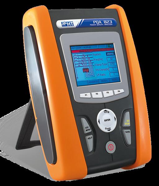 HT Instruments PQA 823 Netzanalysator CAT IV, inkl. Flickeranalyse