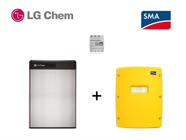 SMA SI 4.4 LG RESU 6.5 Batteriespeicherset 6,5 kWh