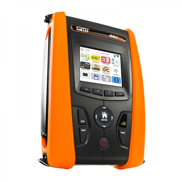 HT Instruments GSC60 VDE0100 Installationstester mit Touch Screen