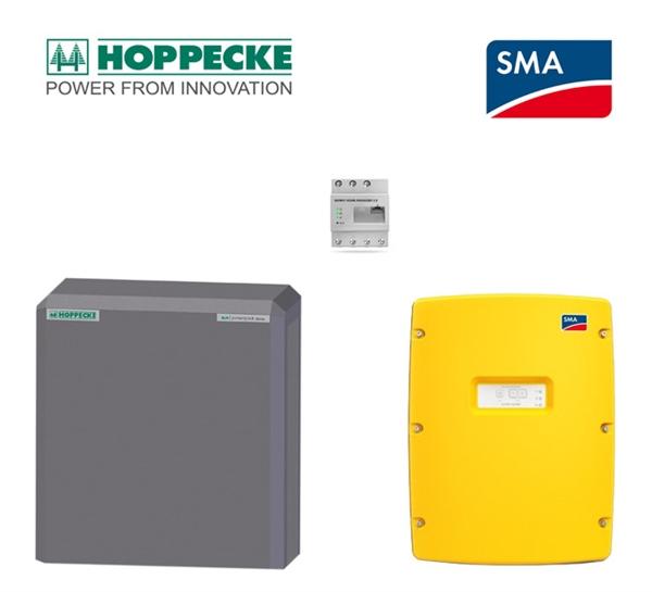 SMA SI 6.0 Hoppecke sun powerpack classic 6,4 kWh Batteriespeicherset