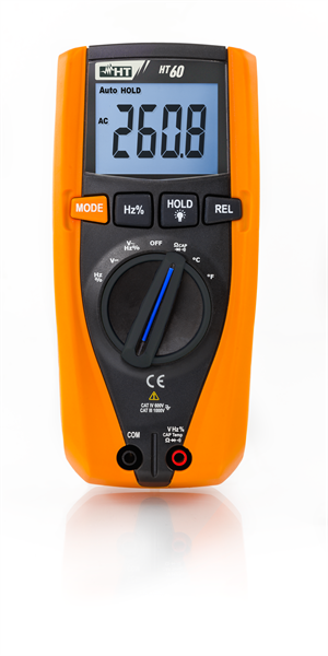HT Instruments HT60 Digitales Multimeter TRMS